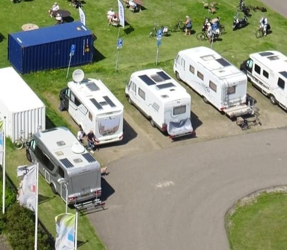 Pilot camperplaatsen in Bernissegebied