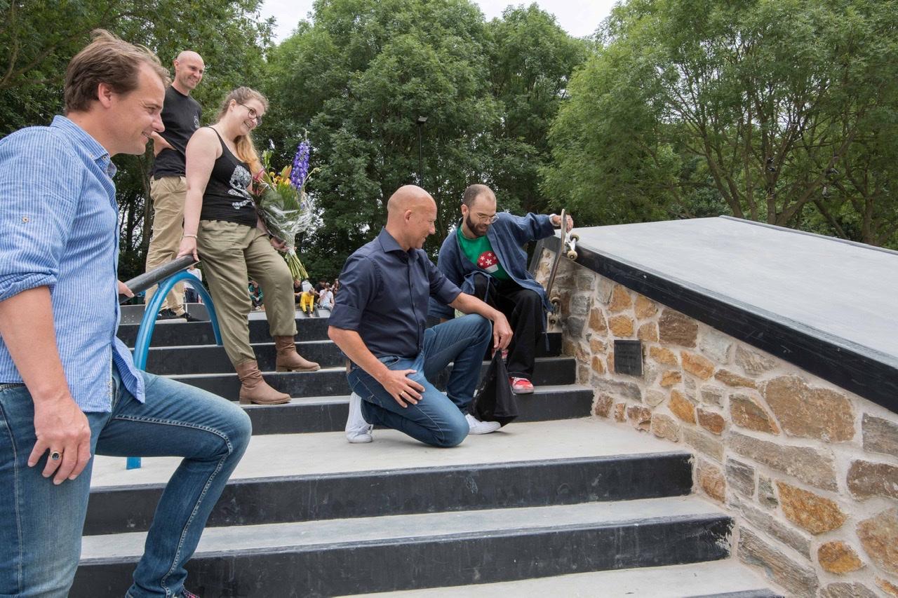 Skate- en graffitipark Spike in Groenewoud officieel heropend